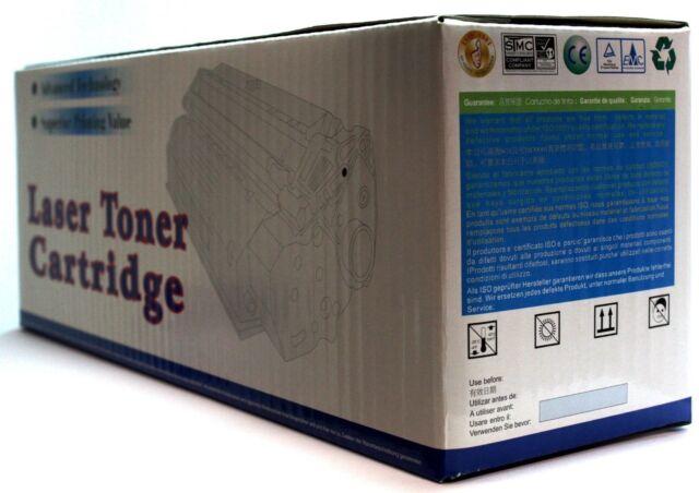 1X Cartucho de Tóner Negro No-Oem Alternativa para hp Q6470A-6000 Pages