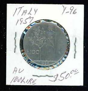 1957 Italie 100 Lire Y 96 Pièce De Monnaie F6afx9q4-07230853-121464312