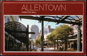 ALLENTOWN-PA-Hamilton-Mall-Farr-039-s-Shoes-Vtg-Postcard