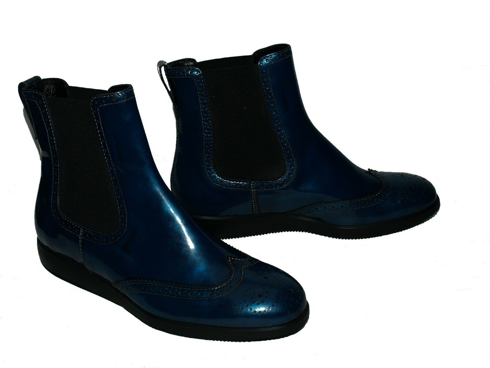 Hogan Ankle boot Polish blue Size 39