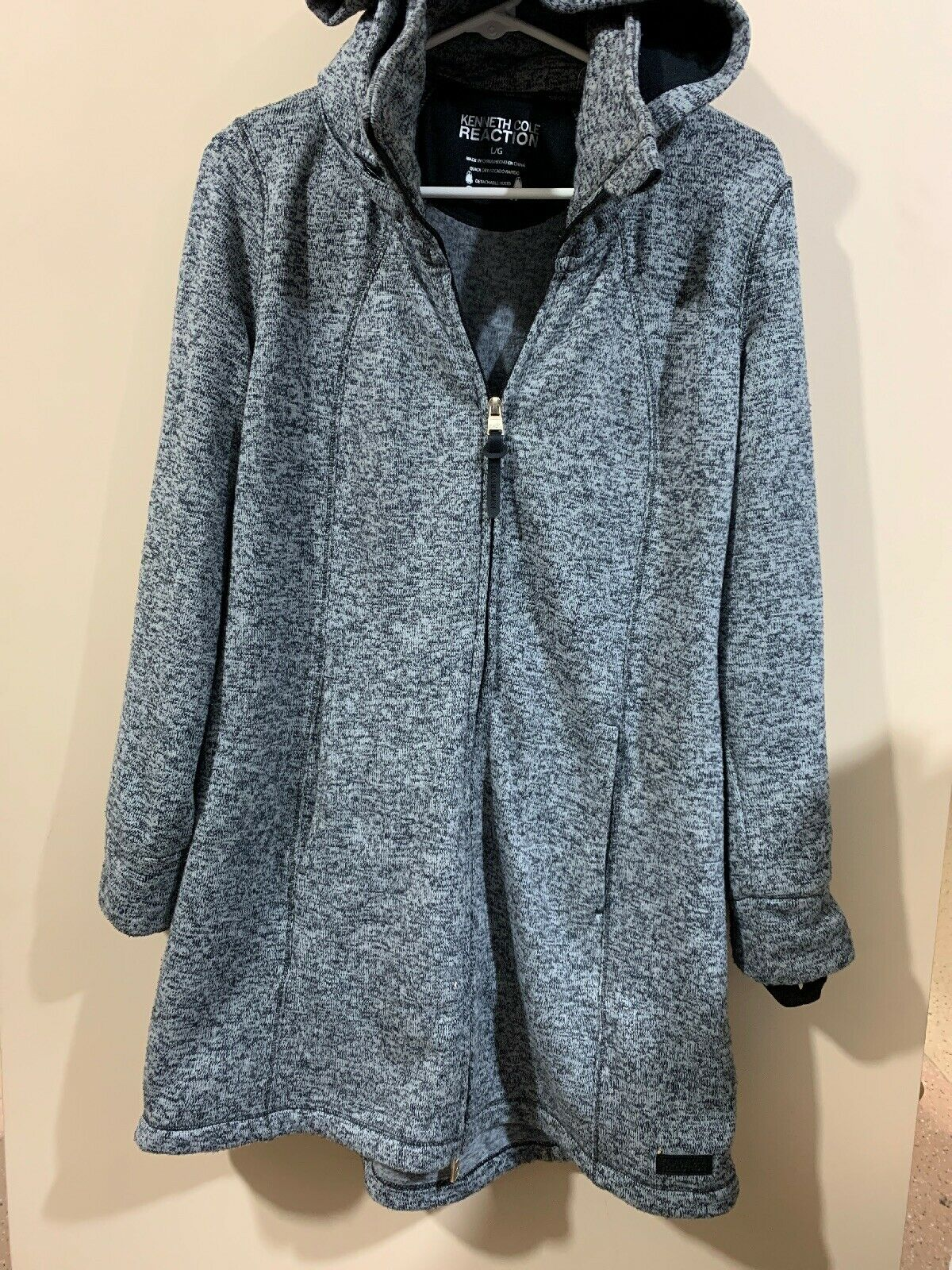 Kenneth cole reaction Sweater Coat Grey