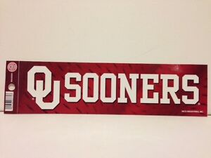 BRAND-NEW-Oklahoma-Sooners-Sticker-GREAT-DEAL