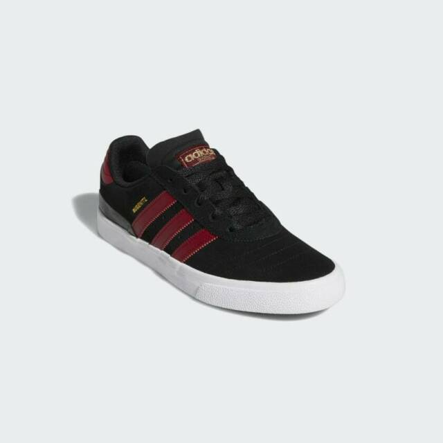 Brand New Mens Adidas Busenitz Vulc Skateboard Shoes Core Black Burgundy