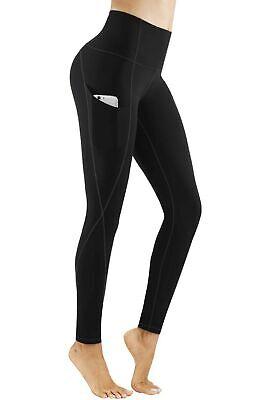 we fleece Yoga Pants with Pockets High Waist Yoga Pants for Women Workout Yoga Leggings with Pokcets Tummy Control