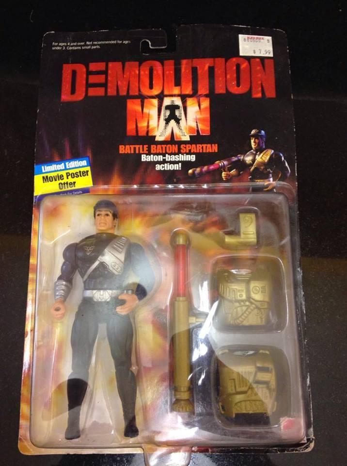 Demolition man kampf baton spartaner