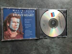 JAMES-HORNER-MORE-MUSIC-FROM-BRAVEHEART-SOUNDTRACK-CD-ALBUM-EXC