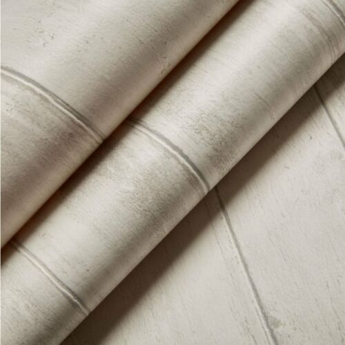 Graham /& Brown Contour White Whitewashed Blown Washable Wallpaper New WP 2587