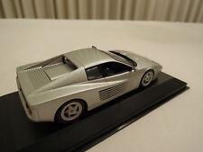 Minichamps Ferrari 512M Silver 1/43 Scale New in Box Ships From USA