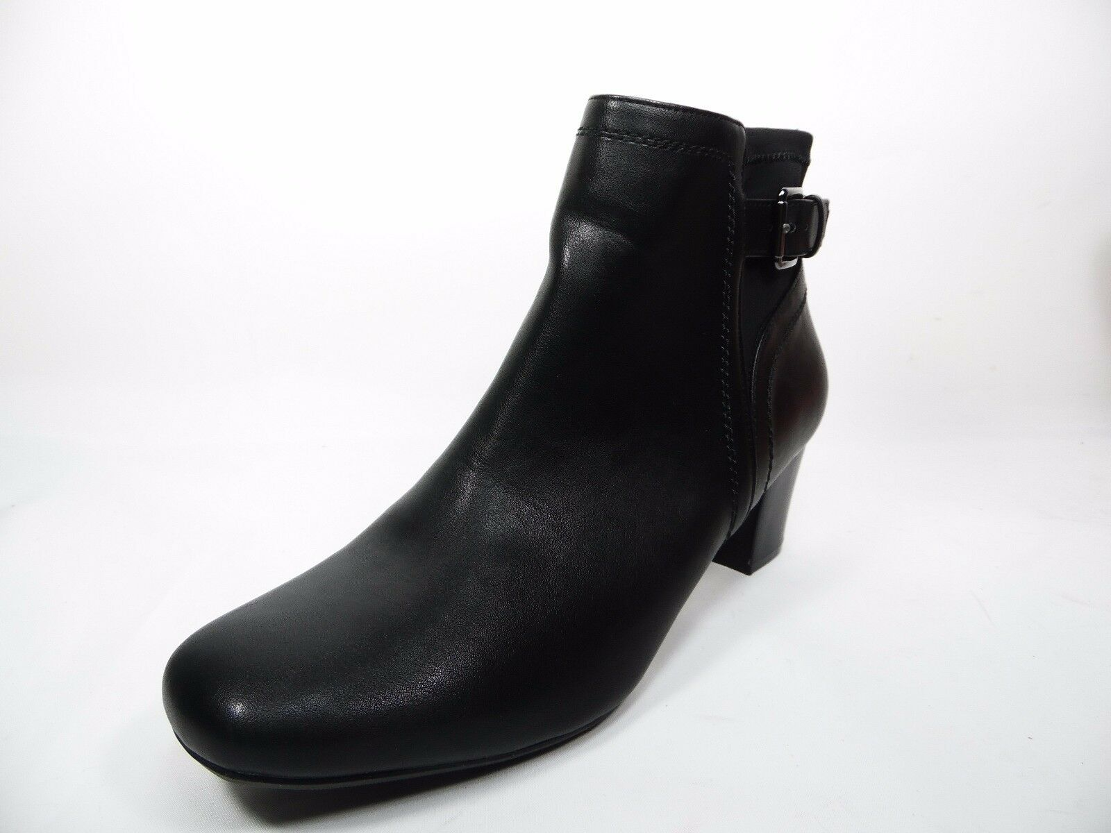East 5th  Rico Heeled Ankle Boots BLack Size 7.5W