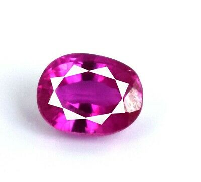 11.5x14.5 mm height 7 mm weight 8.70 cts Faceted Oval Cut stone Natural Pink Color Sparkle Nice Clear size Rubielite Pink TOURMALINE