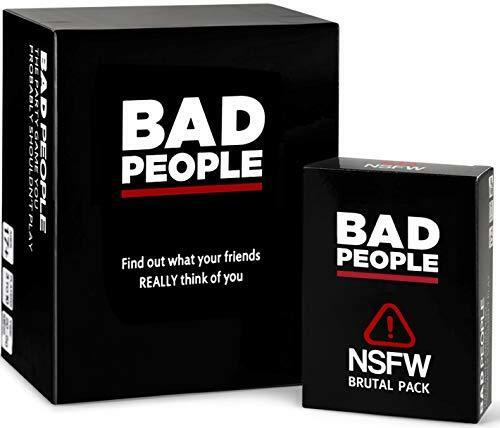 BAD PEOPLE - (The Complete Set) The Party Game You Probably Shouldn't Play + The