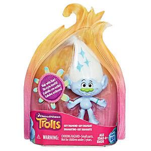 DreamWorks-Les-Trolls-Guy-Diamant-De-collection-Cheveux-Avec-Flair-Figurine
