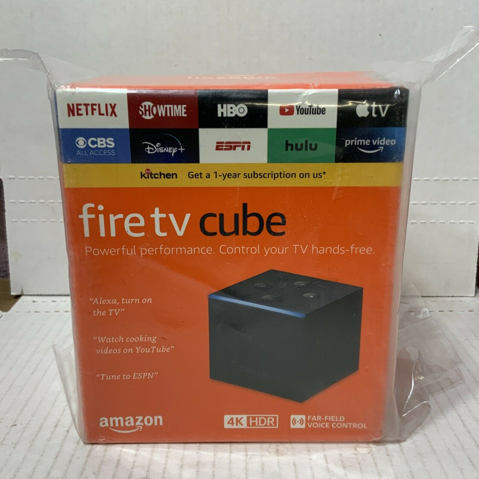 📀 Amazon Fire TV Cube: 4K HDR 2nd Gen Streaming Media Player 2nd amazon fire gen hdr media player streaming