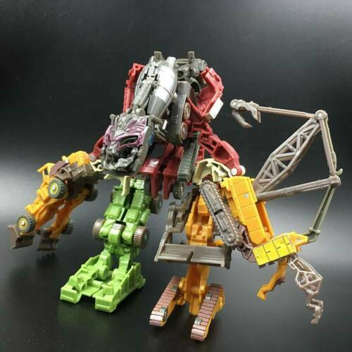 HASBRO TRANSFORMER DEVASTATOR COMBINE 7 ROBOT TRUCK CAR ACTION FIGURES KID TOY////