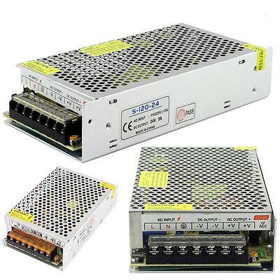 AC 110V-220V TO DC 12V/24V 2A/5A/10A/15A/20A/30A/50A Switch Power Supply Adapter