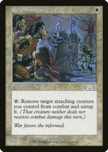 Reconnaissance Exodus NM White Uncommon MAGIC THE GATHERING MTG CARD ABUGames