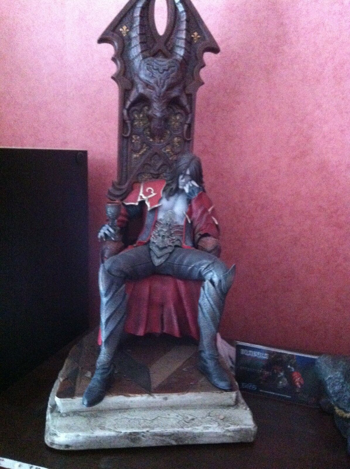 Figurine  Castlevania Dracula Statue 45 cm cm cm First 4 Figures exclusive edition d6fbf7