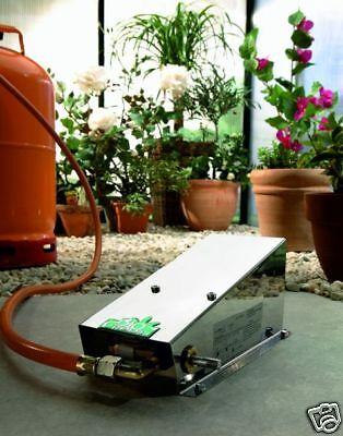 BioGreen Heizung Mini 800 Gas Gewächshausheizung Frostwächter Gas