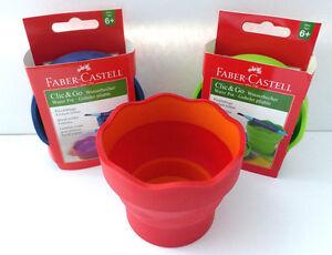 Faber-Castell-Clic-amp-Go-Wasserbecher-Tuschbecher-Tuschebecher