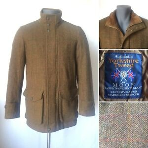 Coat S Size Country Luxury Harbour Tweed Wool Jacket Blue Yorkshire Shooting zUpvwXRq0q