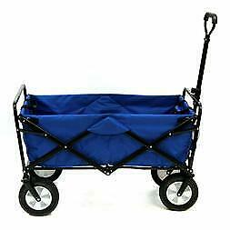 Mac Sports Collapsible Folding Outdoor Utility Wagon blå