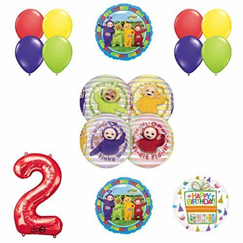 Teletubbies 2nd Birthday Orbz Balloon Birthday Party Supplies and