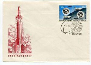 1963 Ersttagsbrief Berlin W8 Valentina Tereschkowa Wostok Vi Space Nasa DernièRe Technologie