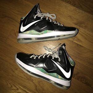 promo code e46c1 0de77 Image is loading Nike-Lebron-10-X-Prism-Men-Size-8-