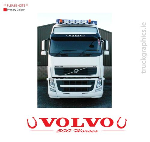 Globetrotter FM FH 20  various Lorry Emblam Sticker Graphic Volvo 500 horses