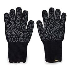 Flamen ❂ Kevlar BBQ Fireplace Gloves Fireproof Heat-Resistant To 932°F  HG1911-1