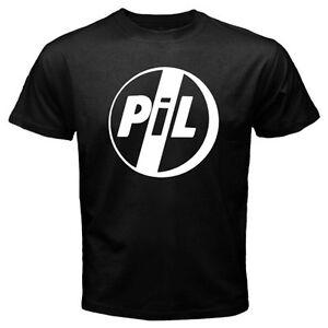 New-Public-Image-Ltd-PiL-Post-Punk-Rock-Band-Men-039-s-Black-T-Shirt-Size-S-to-3XL