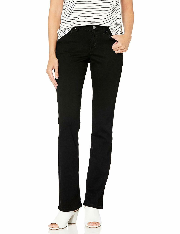 Lee Womens Collection Modern Series Curvy Straight Leg Jean W// Hidden