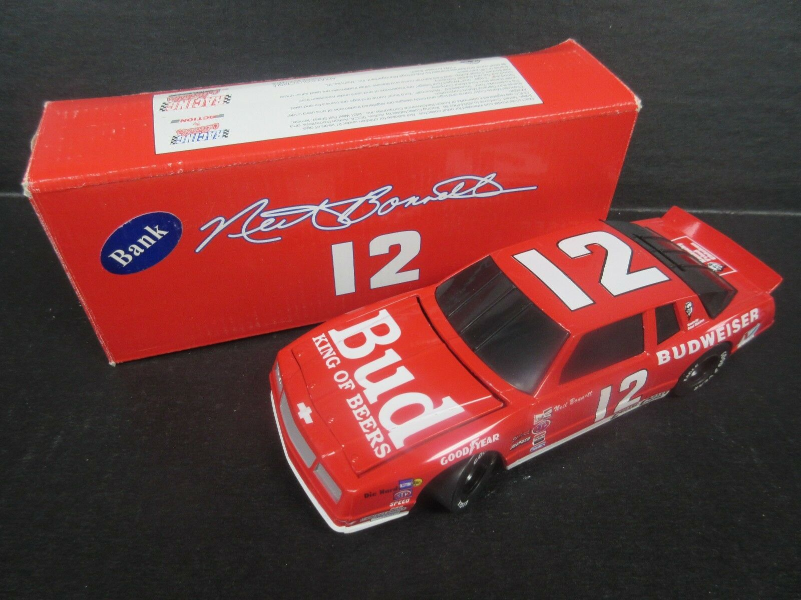1994 RCCA  12 Neil Bonnett--Bud  King of Beers   Bank Car-- 1 24th scale