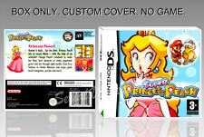 NINTENDO DS : SUPER PRINCESS PEACH. ENGLISH. COVER + ORIGINAL BOX. (NO GAME).