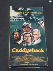 Caddyshack-1980-VHS-Tapes-WWII-Funniest-Comedy-Chevy-Chase