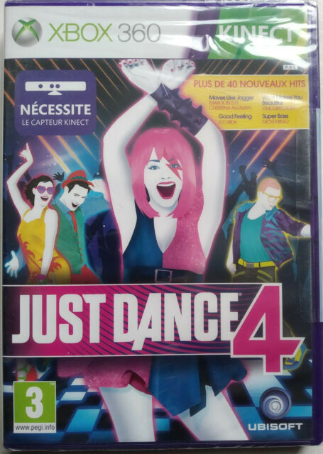 JEU VIDEO XBOX 360 JUST DANCE 4 neuf sous blister