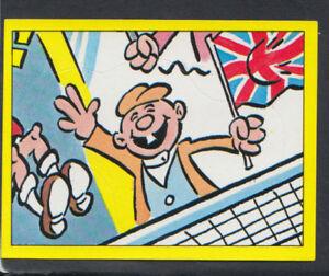 Panini Football 1987 Sticker No 279 - Football Cartoon (S1457)
