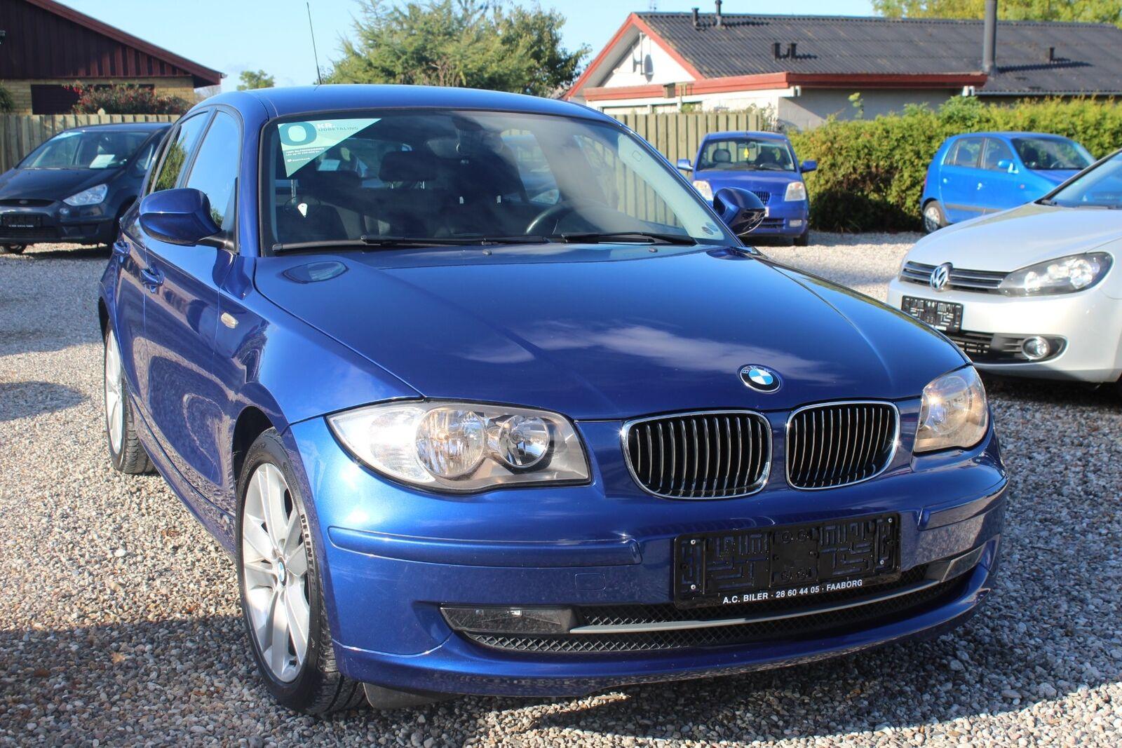 BMW 118d 2,0  5d - 99.900 kr.