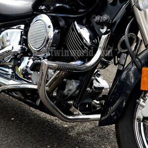 Yamaha V-Star 1100 Chrome Big Bar Engine Guard Highway Crash Bar
