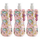 3pcs BPA Free 16oz Collapsible Water Bottle, Foldable Water Bottle