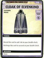 Pathfinder Adventure Card Game - 1x Cloak of Elvenkind - The Skinsaw Murders