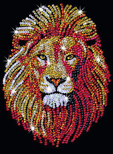 Sequin-Art-Lion-Craft-Kit-by-KSG-SA1207