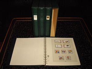 Bund-1970-2000-Sammlung-in-4-Lindner-T-Vordruckalben
