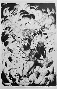 Gary Frank Harley Quinn Cover Original Comic Art Batman, Joker, Doomsday Clock