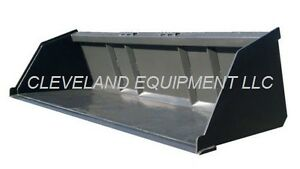 78 Bulk Material Bucket Mulch Topsoil Skid Steer Loader Attachment 1 Cubic Yard Ebay