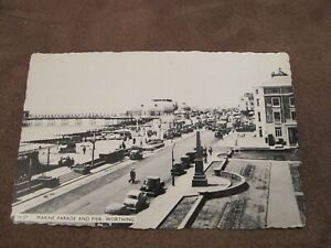 1960s-Sussex-postcard-Marine-parade-amp-Pier-Worthing
