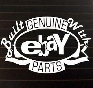 built-with-ebay-parts-funny-car-bike-window-STICKER-DECAL-VAN-CAR-COLOUR-DUB-JDM