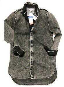 Tommy-Hilfiger-Denim-Herren-Jeans-Hemd-THDM-Long-Fit-Gr-M-bis-XL-NEU