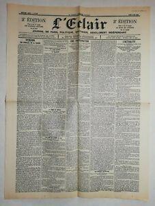 N889-La-Une-Du-Journal-L-039-eclair-3-mai-1900-une-inauguration-l-039-actualite