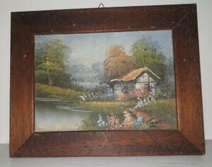 quadro-classico-paesaggio-dipinto-olio-su-tela-cornice-in-legno-color-noce-23x18